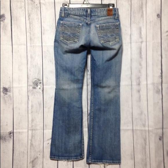 BKE Denim - BKE Star-18 Low Rise Boot Cut Stretch Blue Jeans